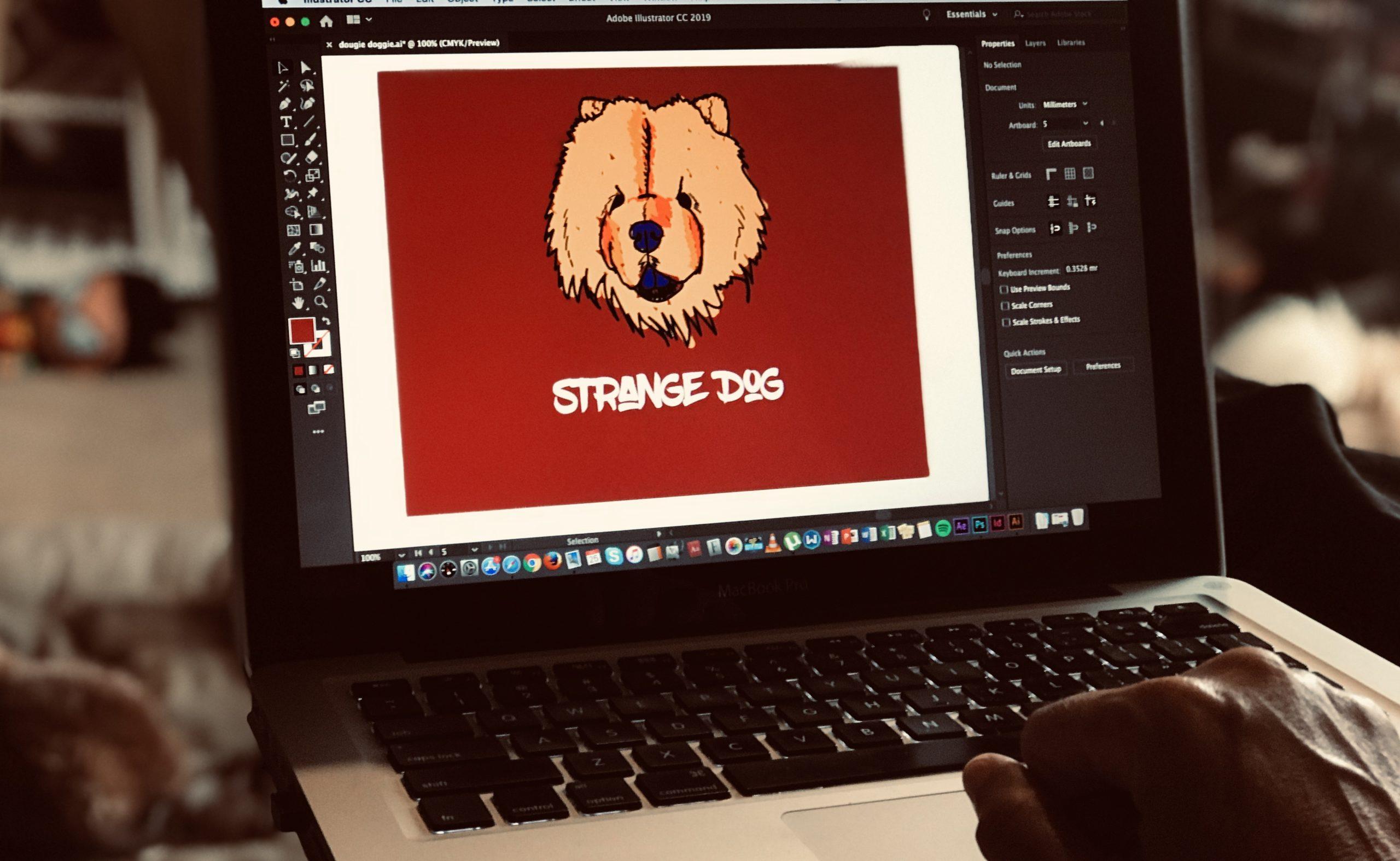 Design and Illustration at Strange Dog Print and Design