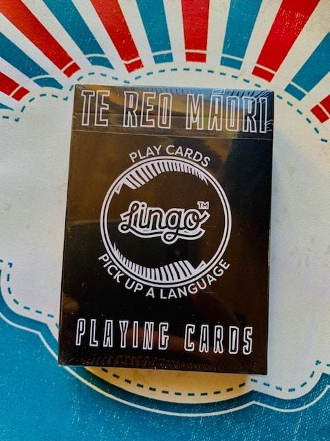 Te Reo Māori playing cards